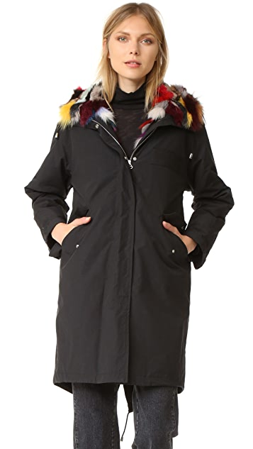 Fishtail parka in spanish