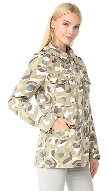 Army By Yves Salomon Camo Jacket
