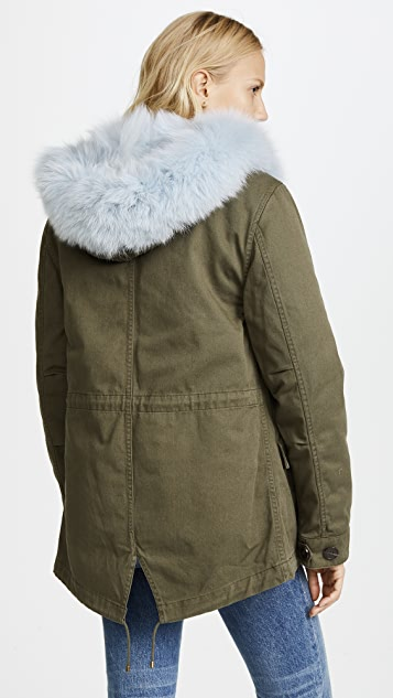 Army By Yves Salomon Parka with Removable Fur Lining | SHOPBOP