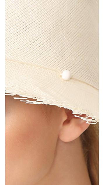Artesano Playa Hat with Fringe