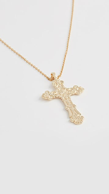 Amber Sceats Cross Necklace