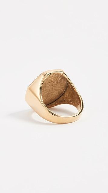Amber Sceats Leo Ring
