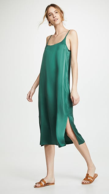 ASCENO Long Slip - Bottle Green