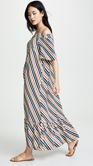 ASCENO Off Shoulder Dress