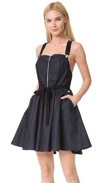 Adam Selman Overall Dress