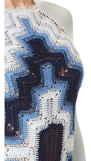 Adam Selman Crochet Bodysuit