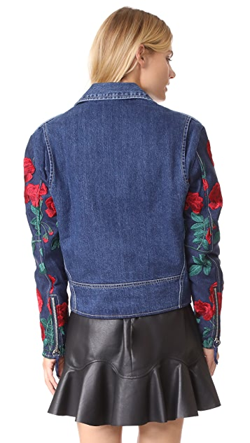 Adam Selman Moto Jacket