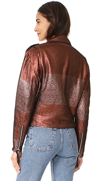 Adam Selman Sport Moto Jacket