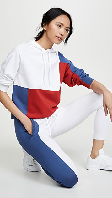 Adam Selman Sport Colorblock Pants