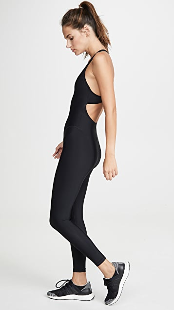 Adam Selman Sport French Cut Jumpsuit
