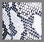 黑色/白色蟒蛇纹