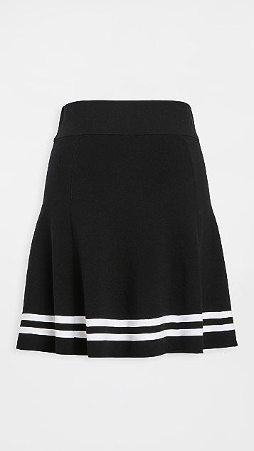 Adam Selman Sport Kicky Skirt
