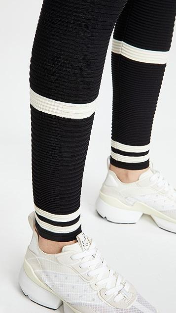 Adam Selman Sport Rib Knit Leggings