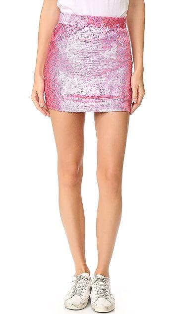 ASHISH Мини-юбка с блестками