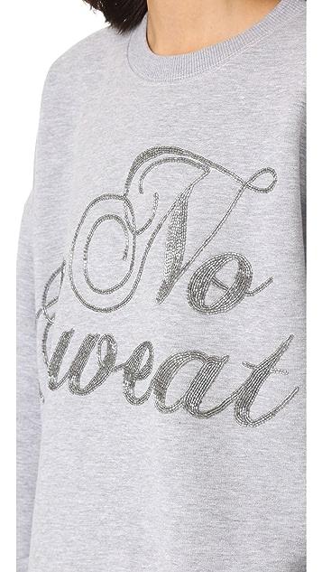 ASHISH Swirly No Sweat Sweatshirt