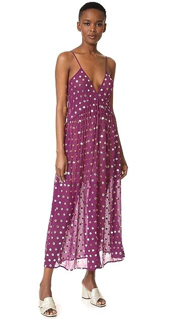 ASHISH Gathered Slip Dress