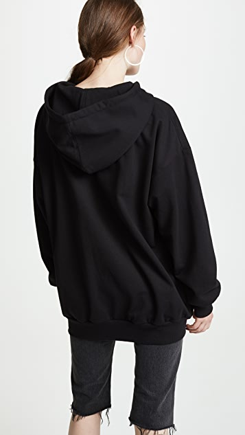 ASHISH Good Mourning Beaded Hoodie