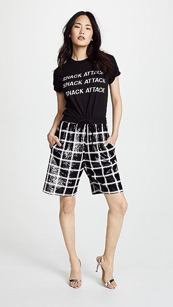 ASHISH Sequin Board Shorts