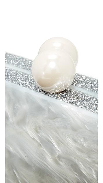 ashlyn'd Imitation Pearl Clutch