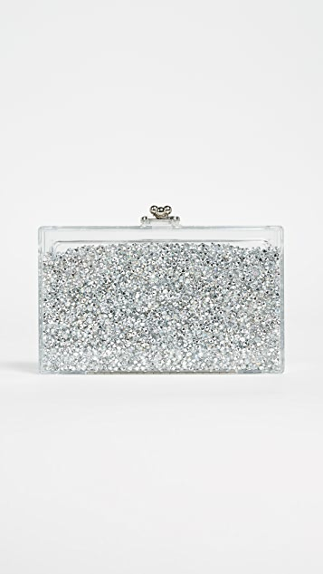 ashlyn'd Diamond Shaker Clutch