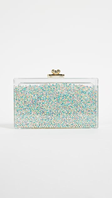 ashlyn'd Frosty Rainbow Clutch