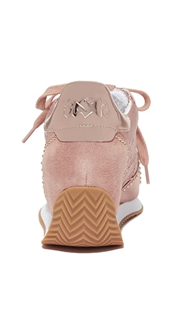Ash Blush Wedge Sneakers