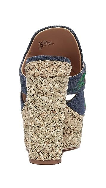 Ash Bahia Wedge Slide Sandals