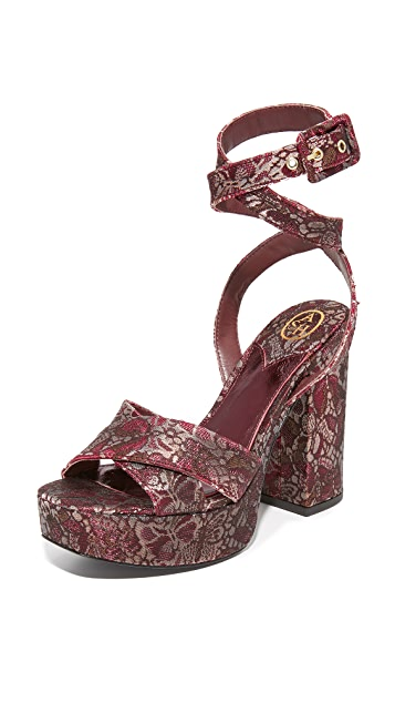 Ash Boom Platform Sandals