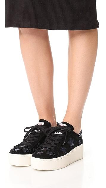 Ash Cult Star Platform Sneakers