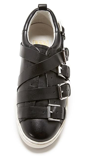 Ash Premium Buckle Sneakers