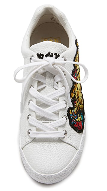 Ash Niagara Embroidered Sneakers