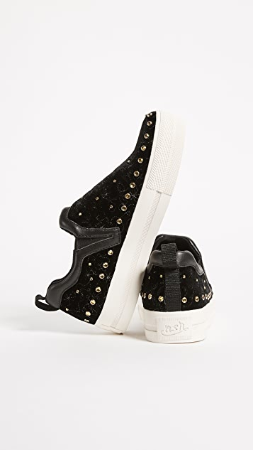 Ash Jetset Embroidered Sneakers