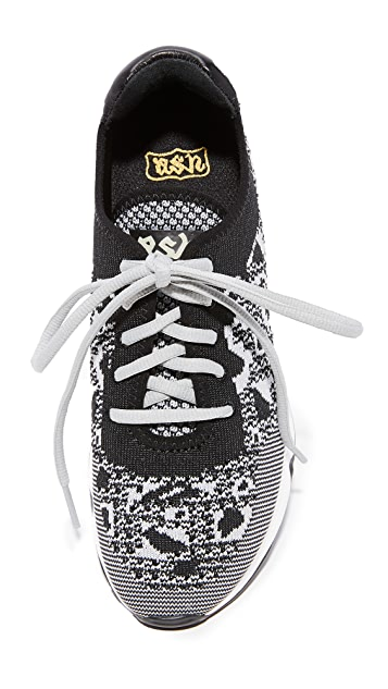 Ash Lucky Leo Knit Sneakers
