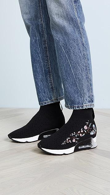 Ash Lotus Knit Joggers