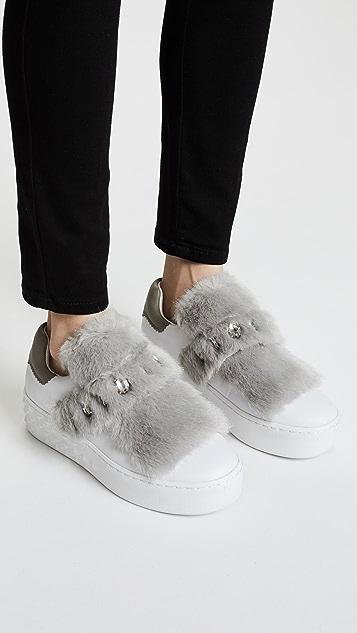 Ash Djin Platform Sneakers