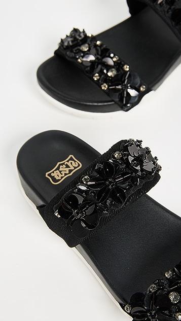 Ash Oman Flowers Sandals