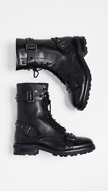 Ash Witch Combat Boots