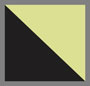 Черный/серебристый/флуоресцентно-желтый