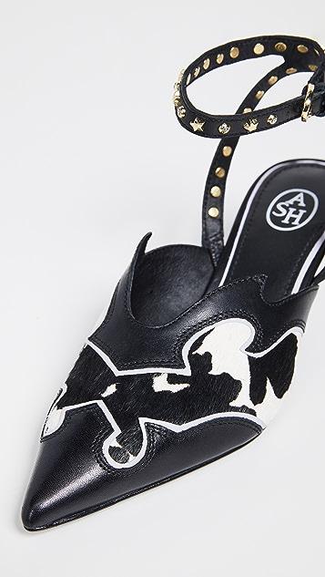 Ash Туфли-лодочки с ремешком на пятке Charlize