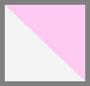 白色/深粉色