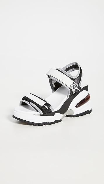 Ash Deep Wedge Sandals
