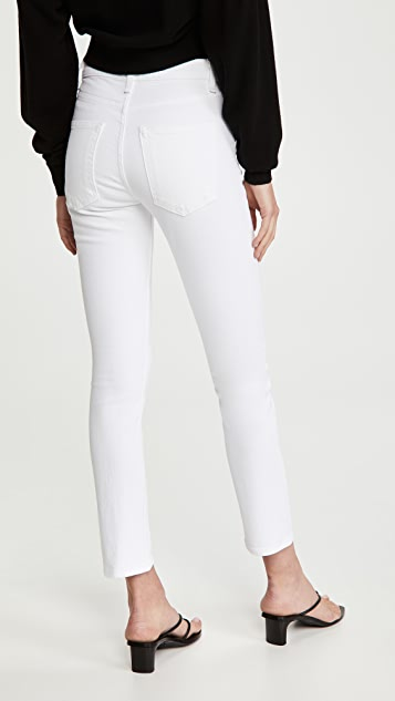 ASKK NY High Rise Crop Jeans