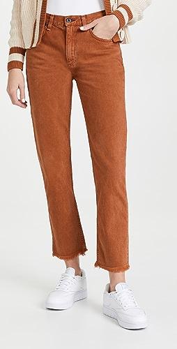 ASKK NY - Mid Rise Straight Jeans