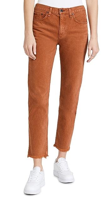 ASKK NY Mid Rise Straight Jeans
