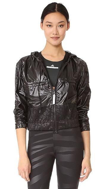 adidas by Stella McCartney Run Climatestorm Floral Jacket