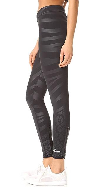 adidas by Stella McCartney Run Zebra Leggings