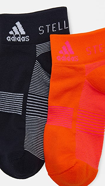 adidas by Stella McCartney 2 Pack Low Socks
