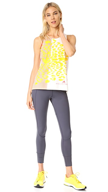28e44557c4fd ... adidas by Stella McCartney Essentials Leopard Tank ...