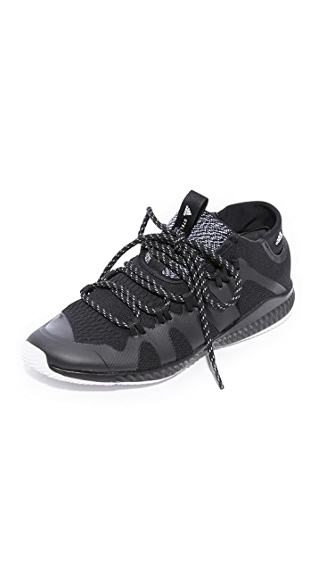 sports shoes 89163 a6323 adidas by Stella McCartney. CrazyTrain Bounce Mid Sneakers