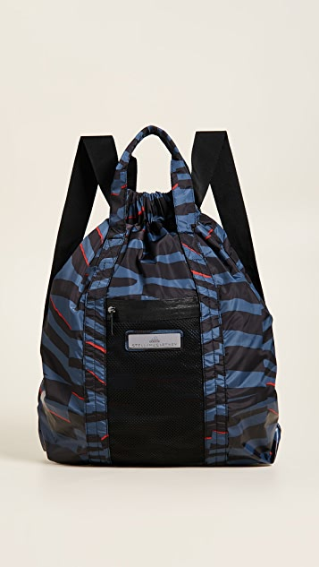 Blue and black gym bag-backpack adidas by Stella McCartney SWbI4Bb6S3